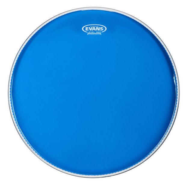 """Evans 20"""" Hydraulic Blue Bass Drum"""