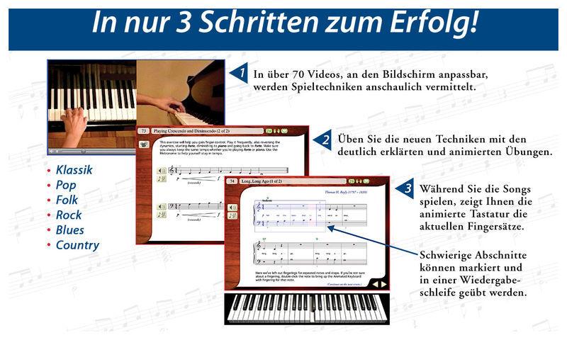 Emedia Klavier Schule - Win