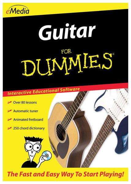 Emedia Guitar For Dummies - Mac