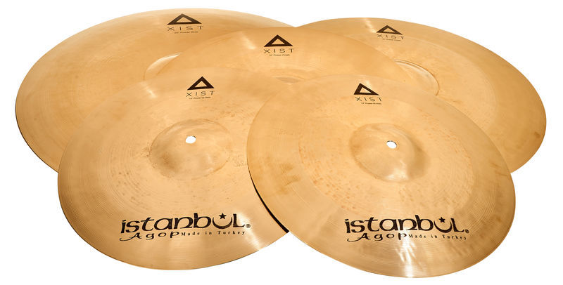 Istanbul Agop Xist Bril.Power Cymbal Set Pro