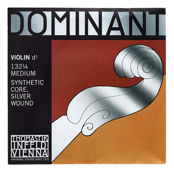 Thomastik Dominant Violin D String 1/4