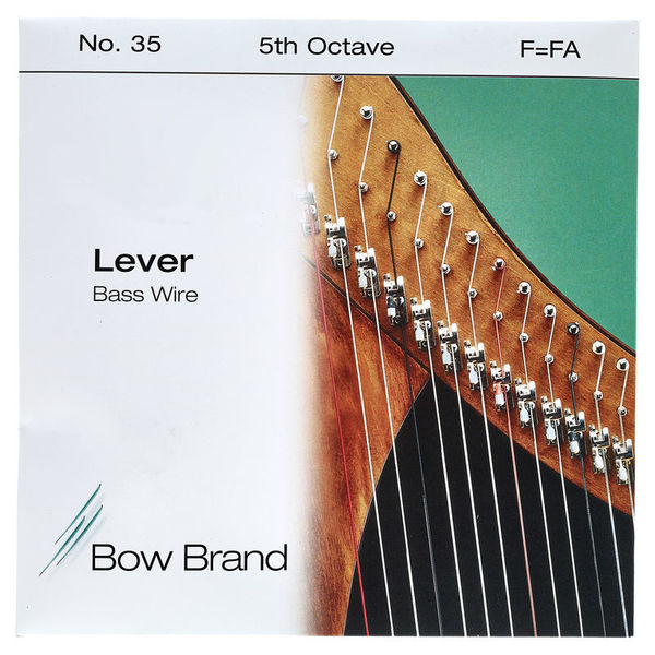 Bow Brand BW 5th F Harp Bass Wire No.35