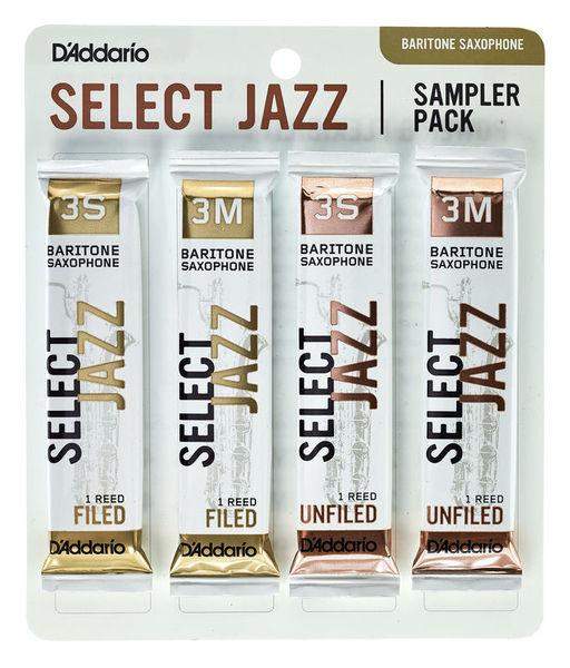 DAddario Woodwinds Select Jazz Baritone Sampler 3