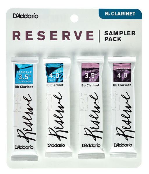 DAddario Woodwinds Reserve Clarinet Sampler 3.5+