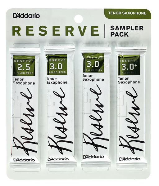 DAddario Woodwinds Reserve Tenor Sampler Pack 2.5
