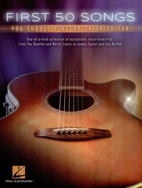 Hal Leonard First 50 Songs Fingerpicking