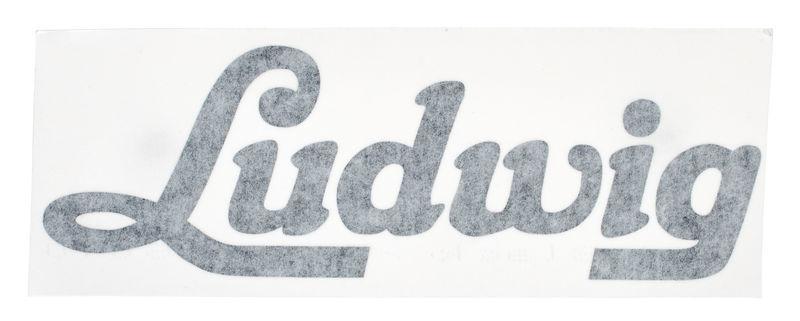 Ludwig Script Vintage Logo Sticker
