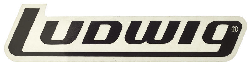 Ludwig Block Logo Sticker