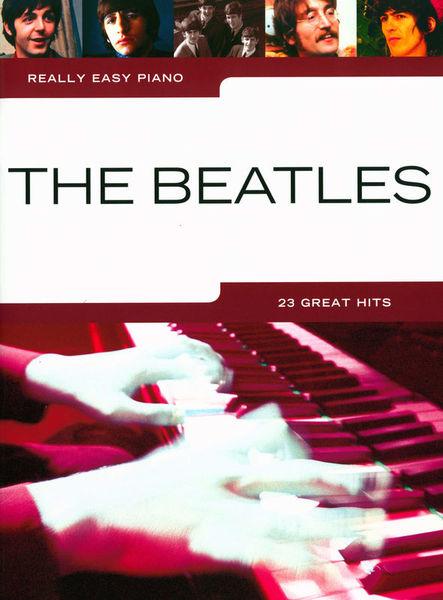 Hal Leonard Really Easy Piano The Beatles
