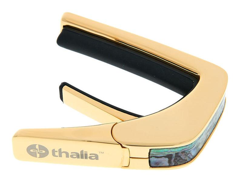 Thalia Capo Dragon Abalone 24k Gold Finish
