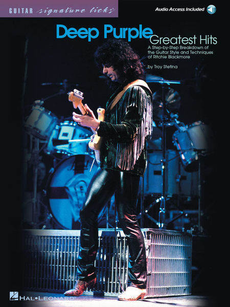 Hal Leonard Deep Purple Greatest Hits