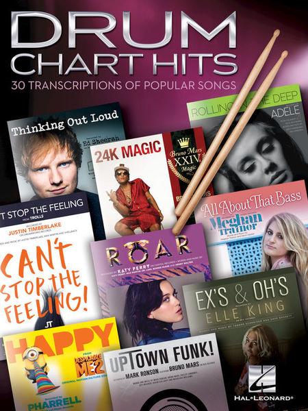Hal Leonard Drum Chart Hits