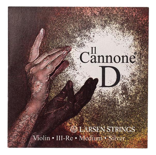 Larsen Il Cannone Violin String D Med
