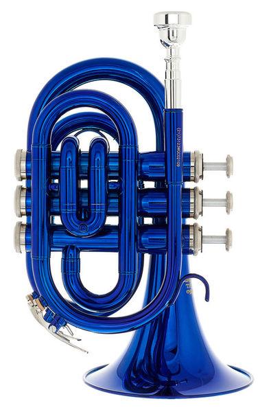 Thomann TR 25 Bb-Pocket Trumpet Blue