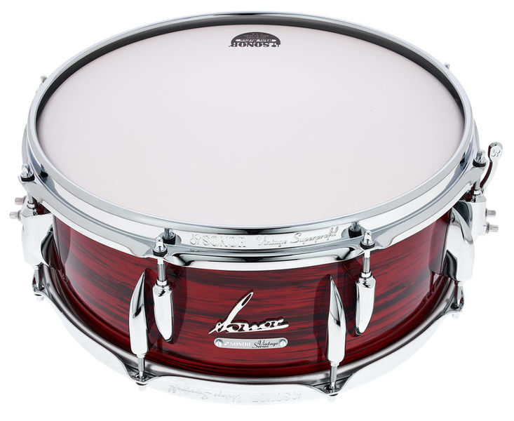 """Sonor 14""""x5,75"""" Vintage Snare Red Oy"""