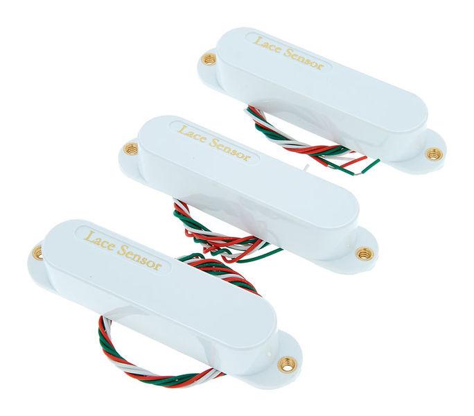 Lace Pickups Sensor Gold 3 Pack WH