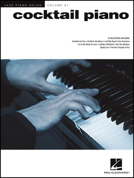 Hal Leonard Jazz Piano Solos Cocktail