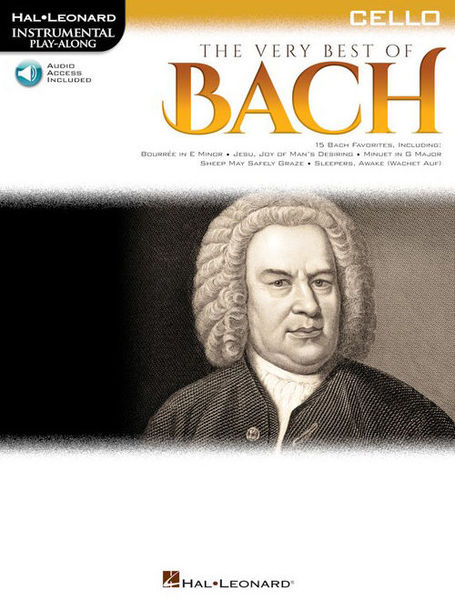 Hal Leonard The Very Best Of Bach Cello