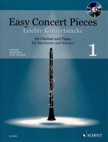 Schott Easy Concert Pieces Clarinet 1