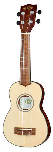 Kala Solid Spruce Travel Soprano
