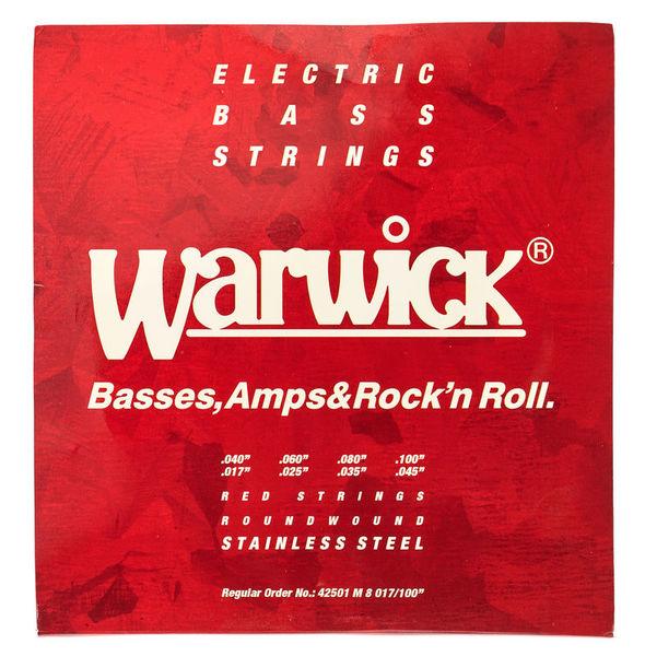Warwick Red Strings 8 M 017/40-045/100