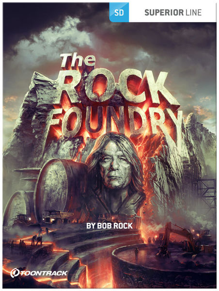 Toontrack SDX The Rock Foundry