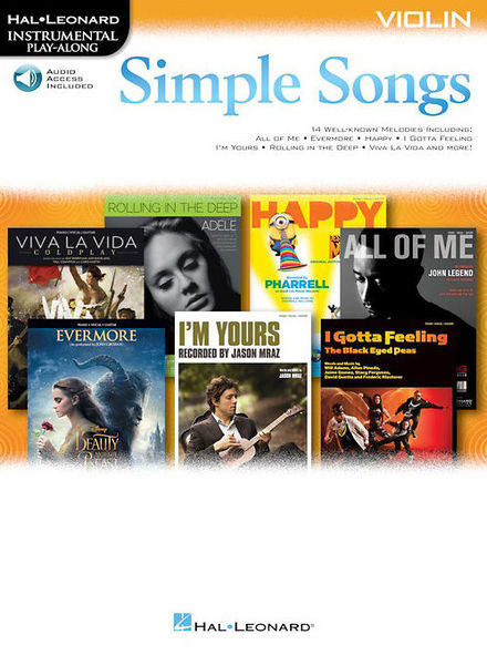 Hal Leonard Simple Songs Violin