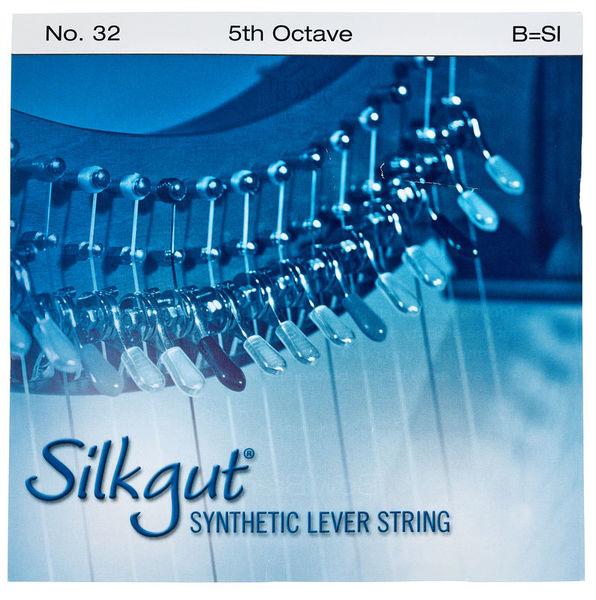 Bow Brand Silkgut 5th B Harp Str. No.32