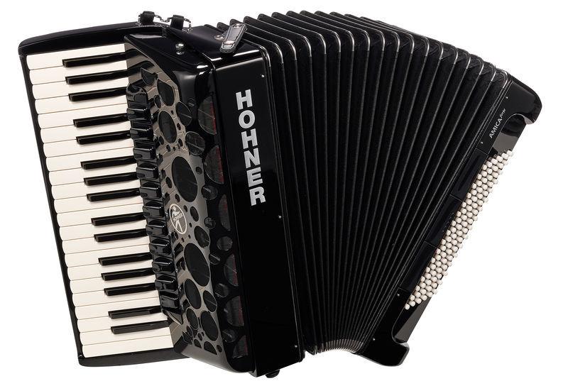 Hohner Amica Forte IV 96 BK silent