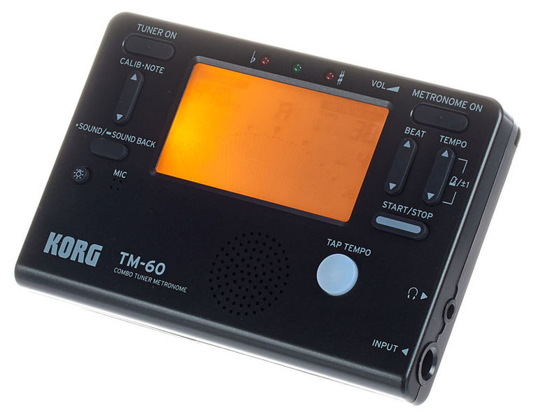 Korg TM-60C Black
