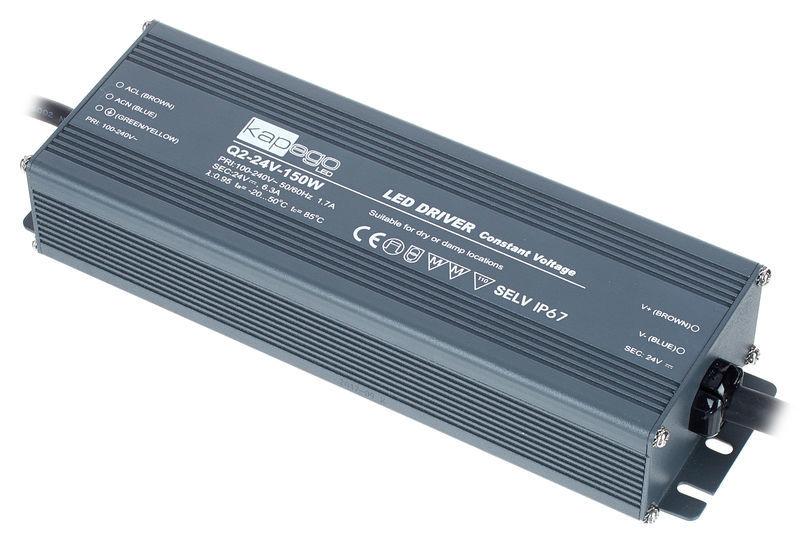 KapegoLED Power Supply Q2-24V-150W