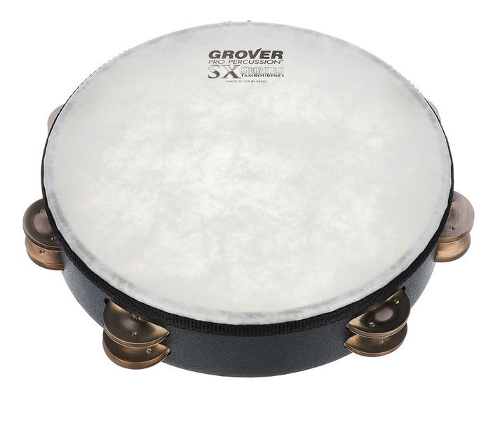 Grover Pro Percussion SX-GS Tambourine