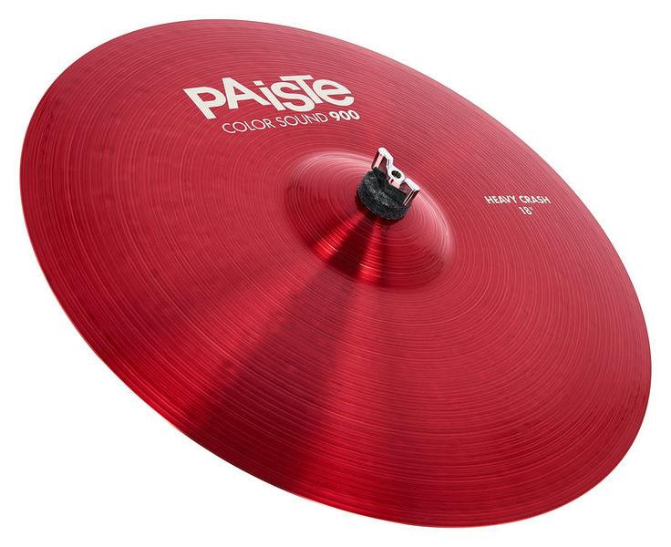 """Paiste 18"""" 900 Color Heavy Crash RED"""