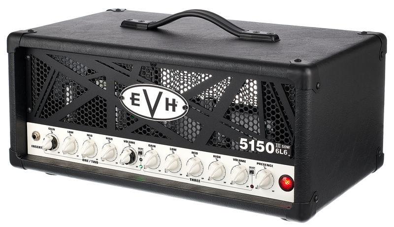 Evh 5150 III 50 W 6L6 Head BK
