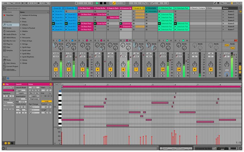 Ableton Live 10 Suite UPG 10 Standard