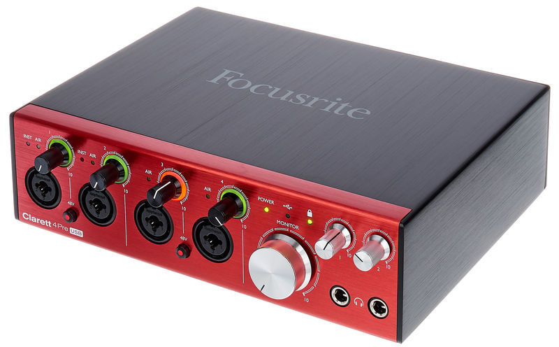 Focusrite Clarett 4Pre USB