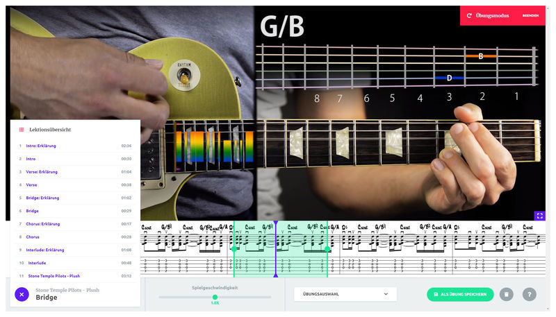 music2me Guitar Subscription 3 Months