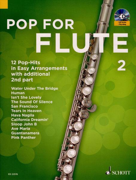 Schott Pop For Flute 2