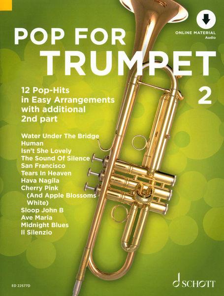 Schott Pop For Trumpet 2
