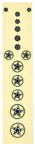 Jockomo Pentagram Sticker