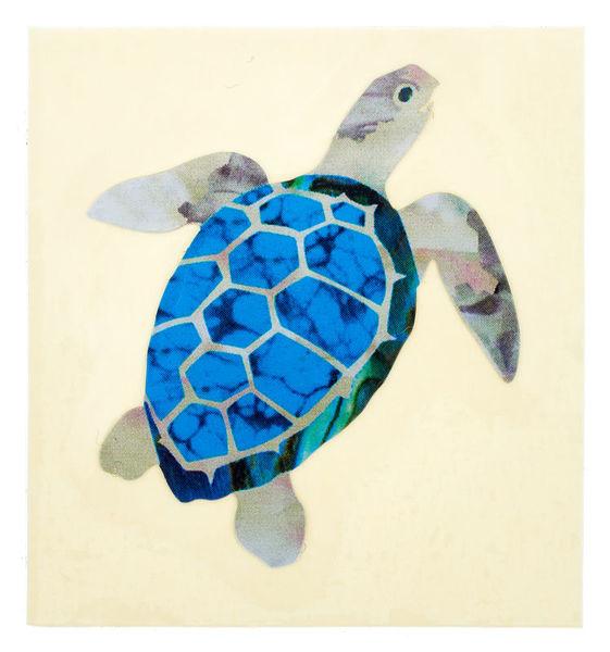 Jockomo Nature Sea Turtle Sticker
