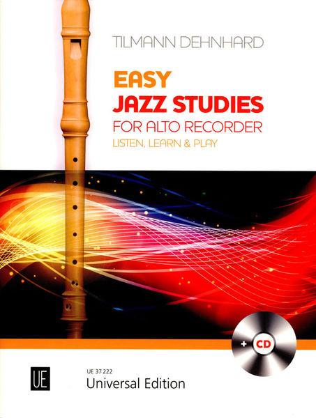 Universal Edition Jazz Studies Alto Recorder