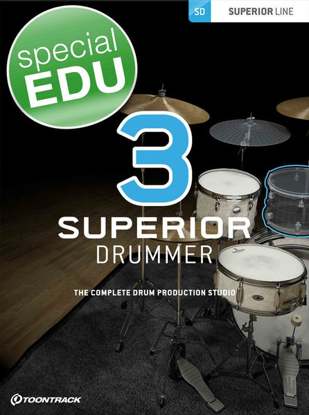 Toontrack Superior Drummer 3 EDU