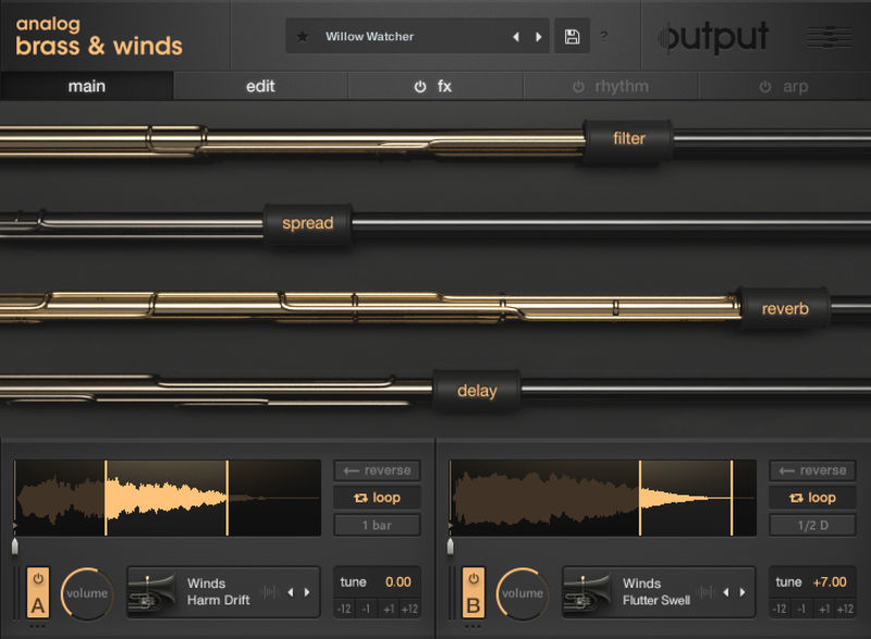 Output Analog Brass & Winds