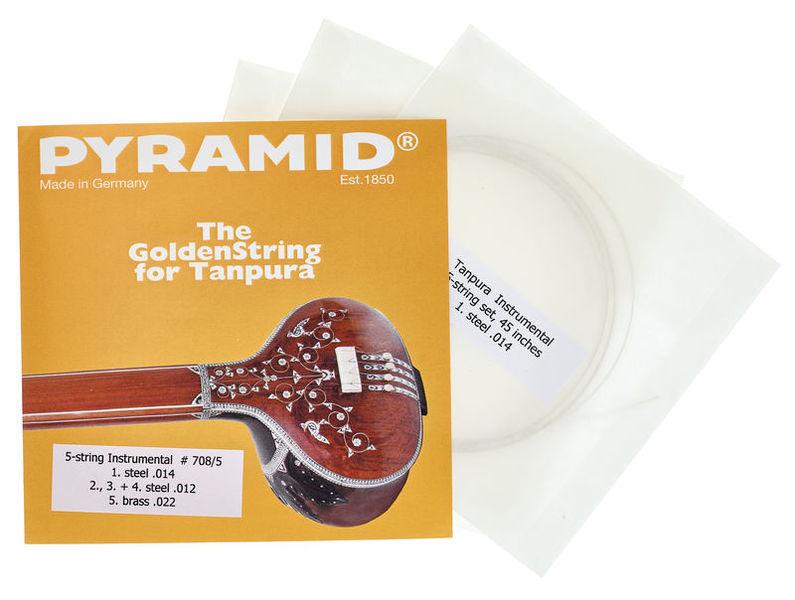 Pyramid 708/5 Tanpura Instrumental 5-S