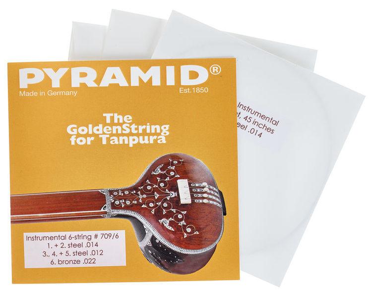 Pyramid 709/6 Tanpura Instrumental 6-S