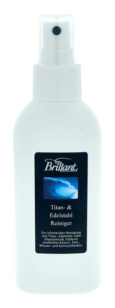 Brillant Titanium & stainless steel