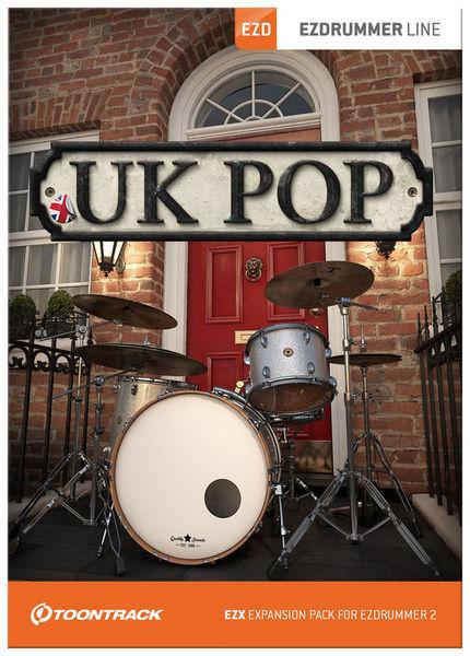 Toontrack EZX UK Pop