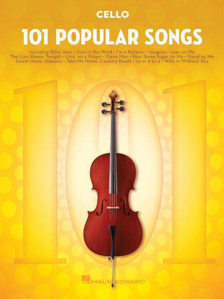 Hal Leonard 101 Popular Songs Cello