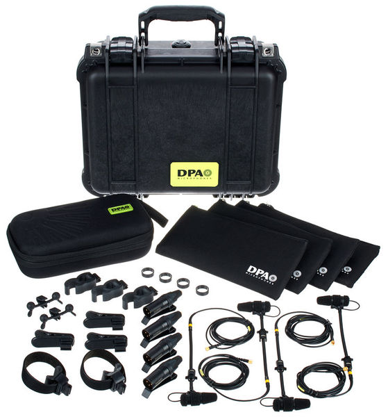 DPA 4099 Core Rock Touring Kit 4M